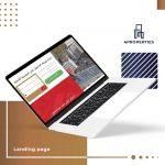 تصميم و تطوير صفحة هبوط لموقع 4Properties