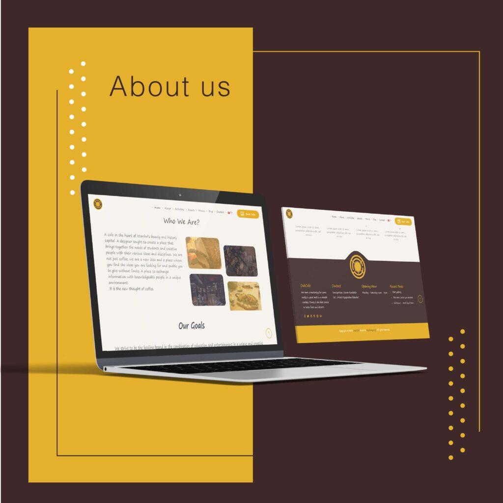 تصميم و انشاء موقع